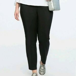 Eloquii Size 22R Black Kady Pant.  Pre-Owned